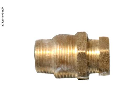 Watertight screw connection