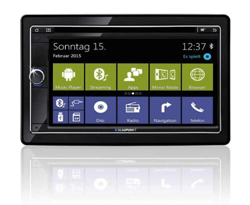 "Naviceiver Columbia 945 with 6.8"" Silk Vision Touch Display"