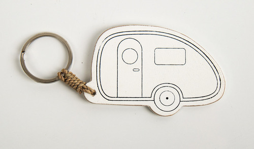 Schlåssel Trailer Caravan med Reimo logo