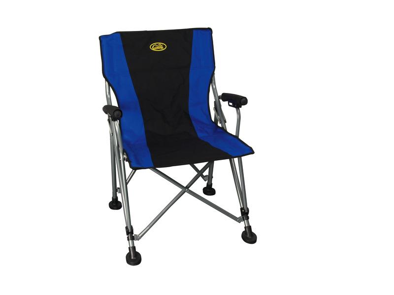 Camping Directors Chair, SALERNO Camp4, black/blue