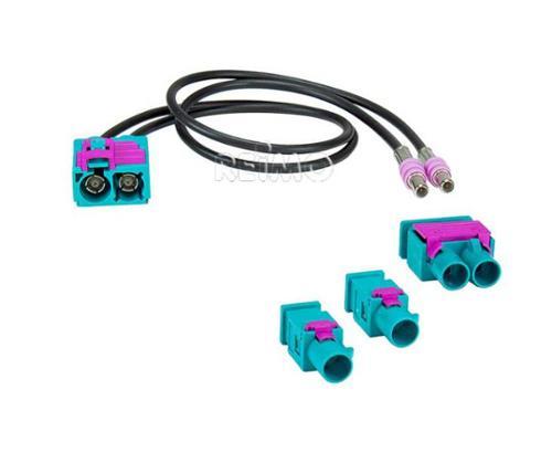 Antenneadapter dubbele Fakra voor Naviceiver