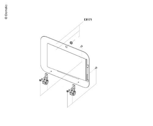 Üvegfedél f.PI8043