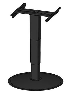 Enkelt kolonne løft 320-680mm, kun øvre og nedre højde