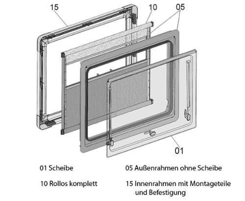 Système de store à rouleau S4.6 1000x700