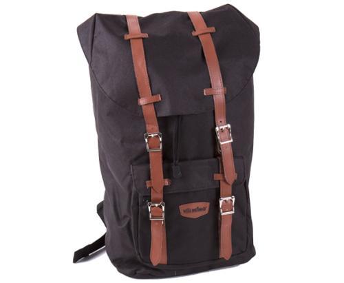 Rygsæk med bærbar taske