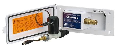 City Wasser-Regler COLORADO PLUS mit abnehmbaren Magnetventil + Wechselschalter
