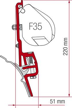 Adapter für Reimo Multirail T4 oder Brandrup