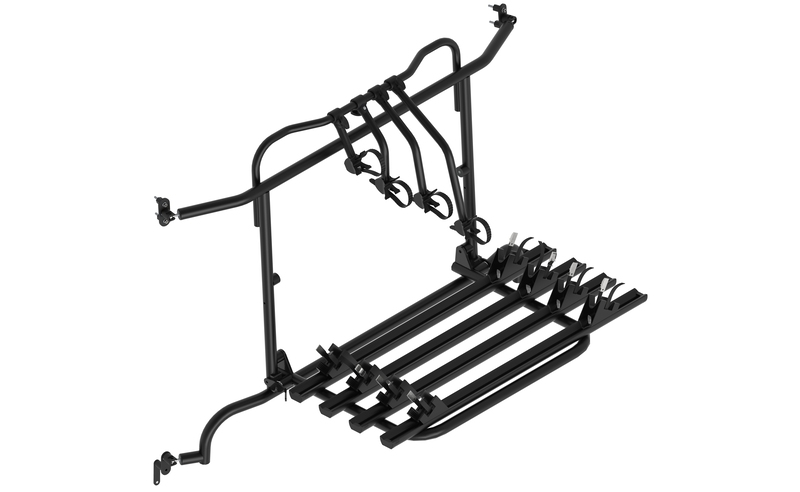 Euro Carry rear carrier for MB-Sprinter for 4 wheels
