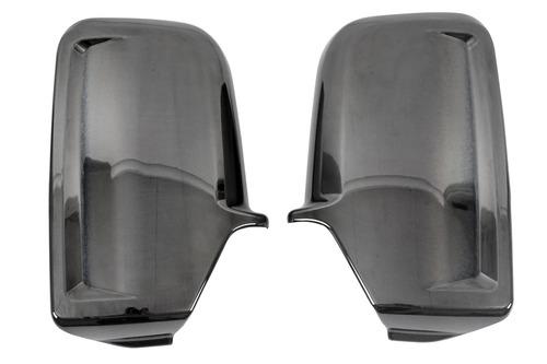 Spiegeldop chroom zwart voor MB Sprinter/VW Crafter