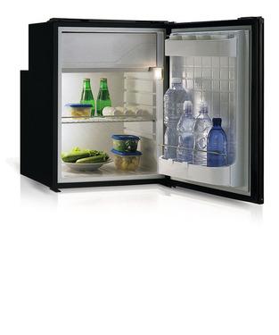 Vitrifrigo Kompressorkühlschrank 90 l + 9 l, Grau, 45 W