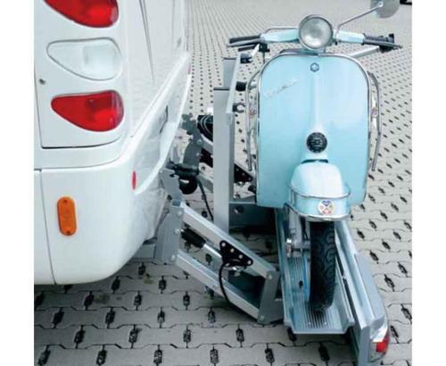 Motorcykelbärare Hydrolift
