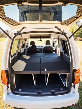 VW Caddy Maxi LR Weekender Bett