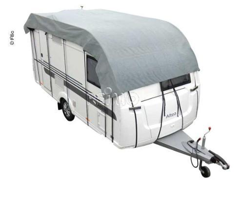 Wohnwagen Schutzdach 605x300cm, grau, atmungsaktiv