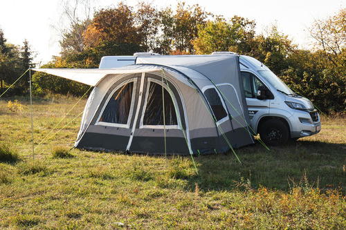 Auvent camping car et fourgon independant gonflable TOUR VAN AIR HIGH AIR