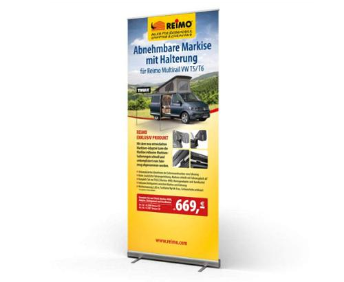 Rollup Banner Adapter Mul