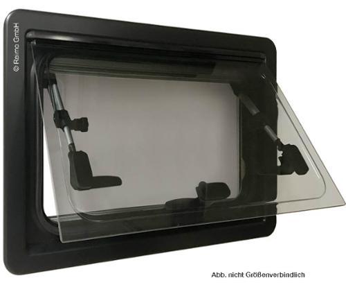 Elegance hinged window 1200x300 mm, flush