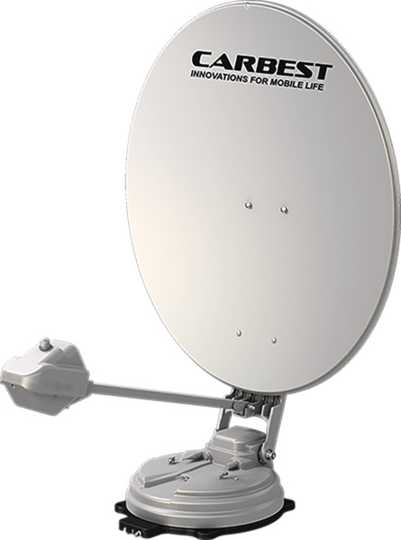 85 cm Automatic Roofmounted Satellite System X85 Twin + Skew