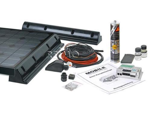 Solaranlage Wohnmobil, Solar Set 12 V slim