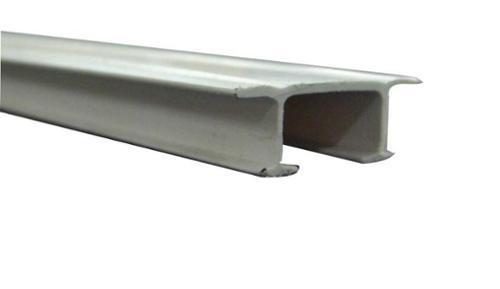 Gardinenschiene zweiläufig Kunststoff, 5 m