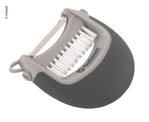 Set éplucheur et brosse, y compris le couvercle de l'éplucheur