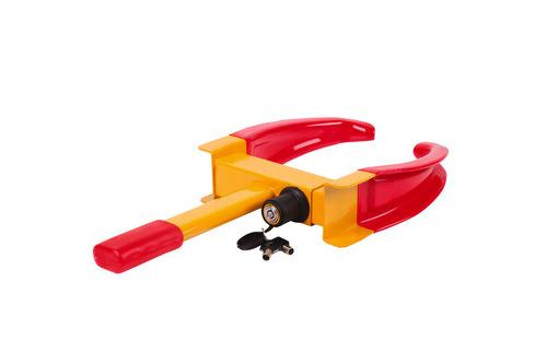 DAGSTILBUD 17/2-20 kun kr. 225,- Brug koden 17feb Carbest WheelLock hjul-laas for bil, trailer og ca