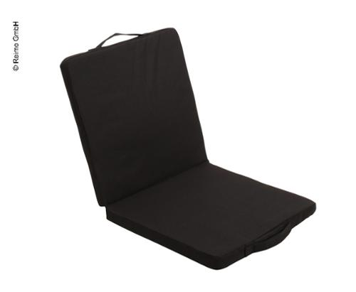 heatable seat cover, 40x40cm, black, incl. battery+charger