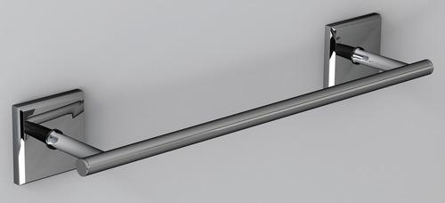 Badehåndklædeholder rustfrit stål krom, 356x75x56mm