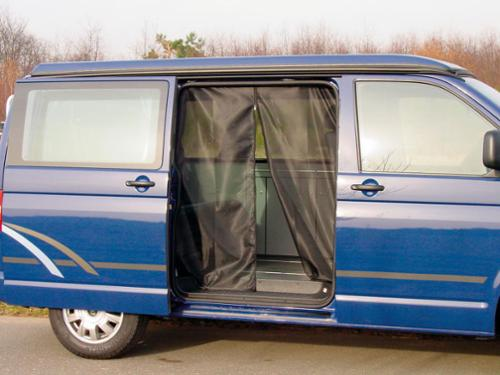 Zanzariera per porta scorrevole e portellone posteriore VW-T5 dal 2003 in poi - Moskiton.VWT5 portellone posteriore