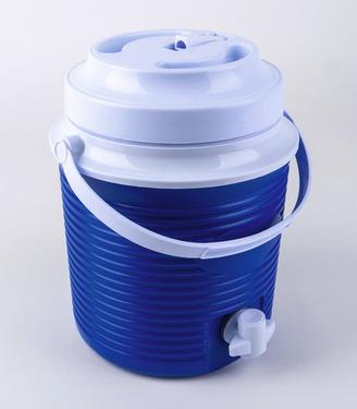 Kühlbehälter 5,8l für Getränke mit Hahn unten und Ausgießer oben