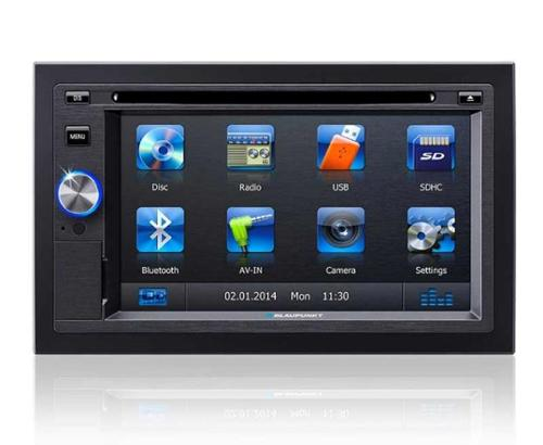 "Naviceiver Los Angeles 570 with 6,2"" Touchscreen TFT-Display"