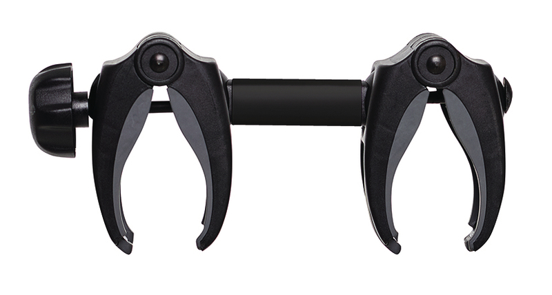 Cykelholder Spacer 4 sort med lås 18cm (for transportør G2)