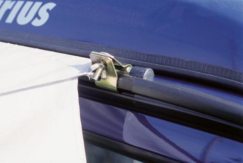 Klemmstange / Schleusenstab für Sonnenvordach 3m
