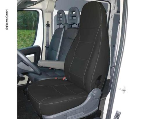 Ducato seat cover with headrest