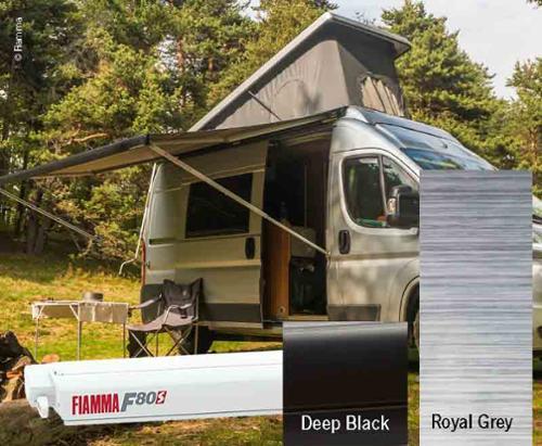 Fiamma F80S tagtelt 4,25m, til varevogne og campister