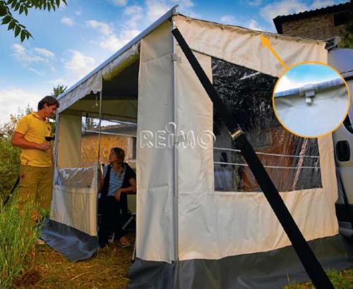 Safari Room awning awnings (front + 2 side panels)
