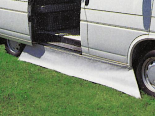 grembiule da terra - pavimento grembiule grigio 50cm m