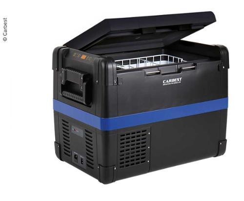 Kompressorkühlbox 12V/24V/230V, Carbest MaxiFreezer 40L