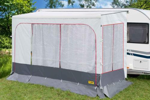 Tenda per parete frontale Fiamma Caravanstore 310 bianco - per 47563