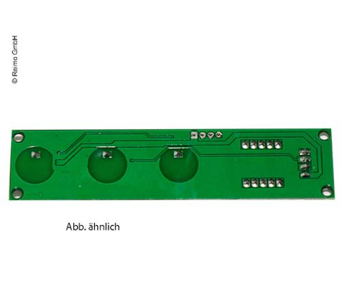 Electric circuit board for steps