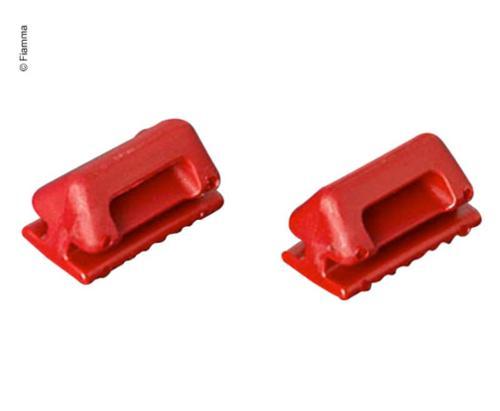 Bæltevogn rød 2 stk