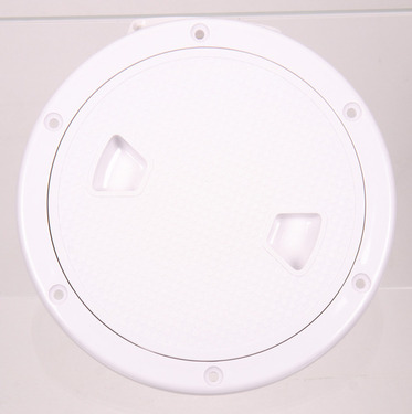 Inspection opening with screw cap Ã?205mm, white