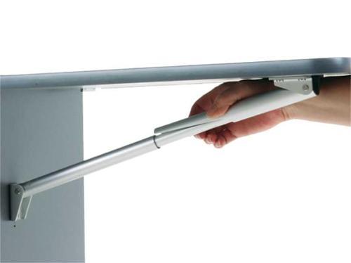 Console pieghevoli in alluminio 150 - 549 mm - Consolle pieghevole in alluminio 549mm