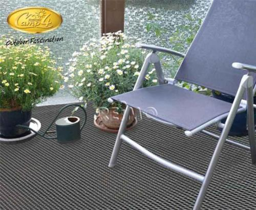 Awning carpet Villa Eco in grey