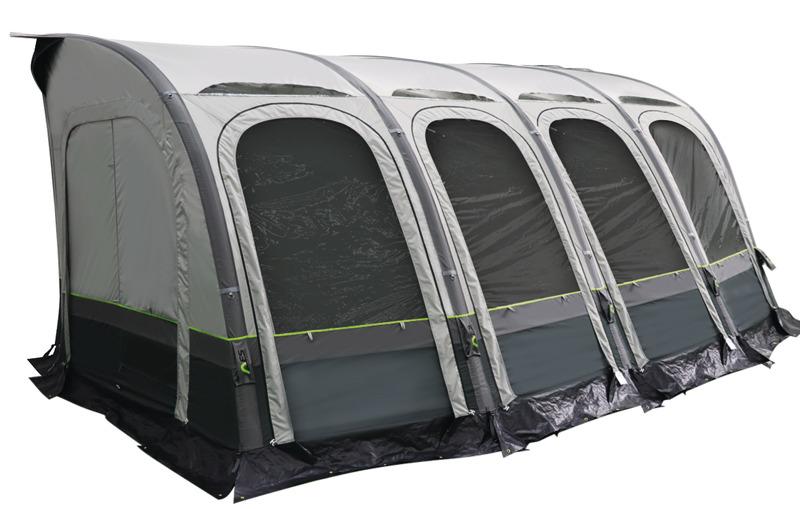 Auvent caravane gonflable MARINA AIR 4,90m - Gonflables - Caravanes - Auvents