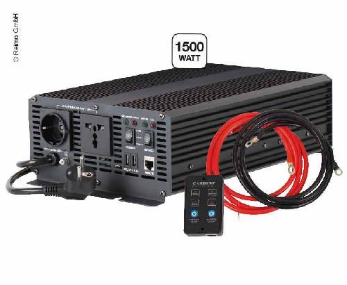 Sinus Wechselrichter 12230V 1500W, integriertes Ladegerät