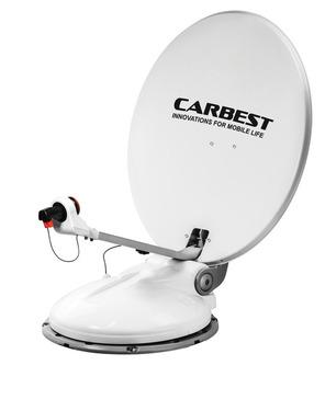 Carbest Travelsat 2 - Single Sat-Anlage mit Bluetooth (68 cm)