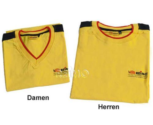 Maglietta Reimo giallo - He.-T-Shirt Reimo giallo L