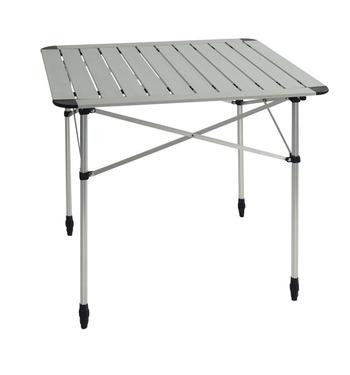 Table de camping enroulable en aluminium DUO CLASSIC - Table enroulable REIMO