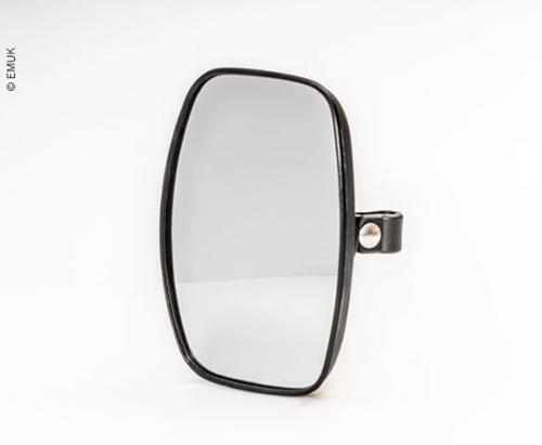 Spare mirror head XL black, 200x140mm