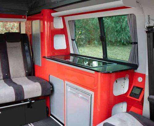 Furniture line VWT6/T5 Avantgarde short wheelbase Ready made without technology